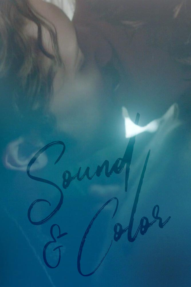 Sound & Color Queliot fanfic cover depicting Eliot and Quentin kissing