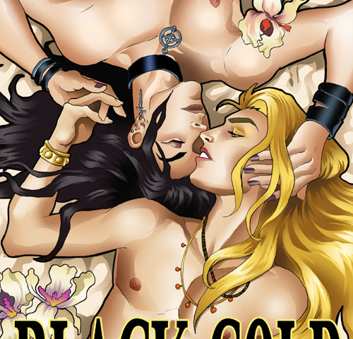Cover for Black Gold by Clancy Nacht and Thursday Euclid